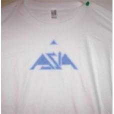Womans Rainbow Glitter T-Shirt Short Sleeve (White)