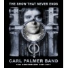 CARL PALMER 2011 TOUR  10TH ANNIVERSARY SHIRT