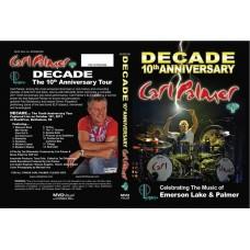 CARL PALMER ELP LEGACY DECADE 10th ANNIVERSARY CONCERT DVD